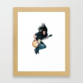 guitar hero Framed Art Print