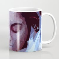 laura palmer Mugs featuring Laura Palmer from Twin Peaks by Alice Teal