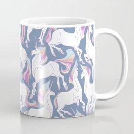 Rainbow unicorns ready for the weekend. Coffee Mug