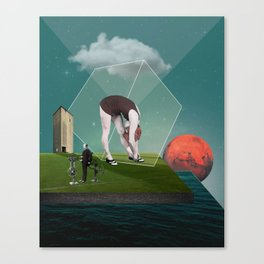 Feeling Boxed In Canvas Print