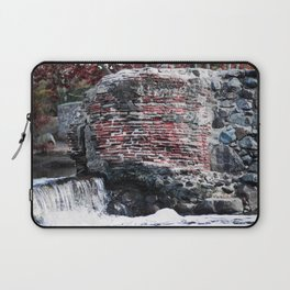 Mission Dam in the Fall Laptop Sleeve