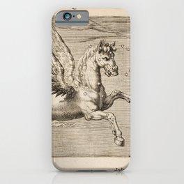 Hugo de Groot's Syntagma Arateorum 1600 - 15 Equus or Pegasus iPhone Case