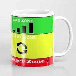 Coffee lover warning levels Coffee Mug