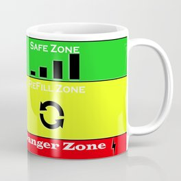 Coffee lover warning levels Coffee Mug
