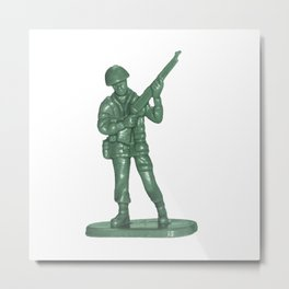 Toy soldier 4 Metal Print