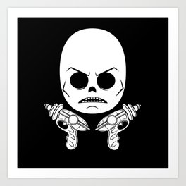 DeathRay Evil Empire Logo Art Print
