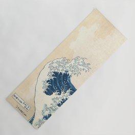 The Great Wave off Kanagawa by Katsushika Hokusai from the series Thirty-six Views of Mount Fuji Yoga Mat