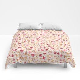Botanical: Beige Vine Comforters