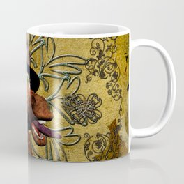 Steampunk, giraffe Coffee Mug