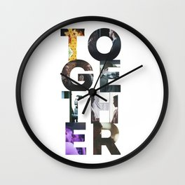 together Wall Clock