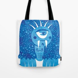 Monster #7 Tote Bag