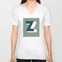 dragonball z V-neck T-shirts featuring Z. by Muro Buro