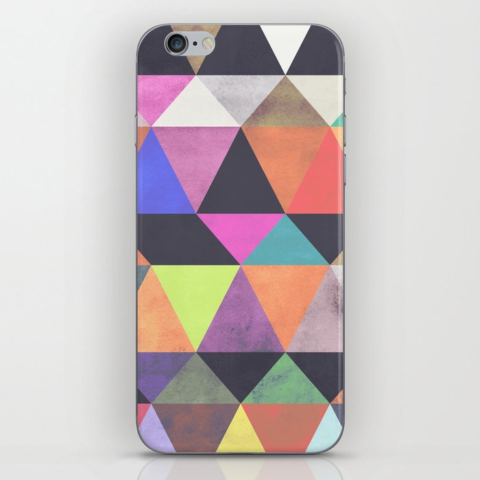colour + pattern 12 iPhone Skin
