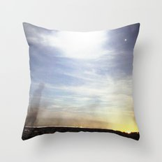 BEACH NIGHT. Throw Pillow