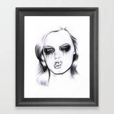 Metal. Framed Art Print
