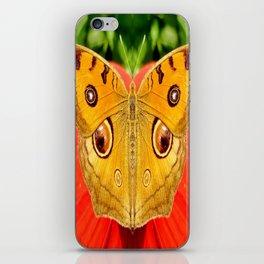 Meadow Argus Butterfly iPhone Skin