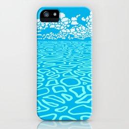 Tropical Ocean by Black Dwarf Designs iPhone Case