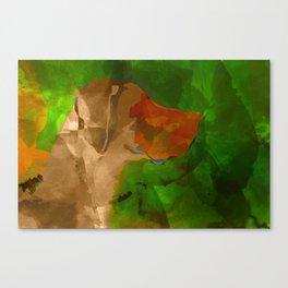 Memory of Great Dane Frida Canvas Print