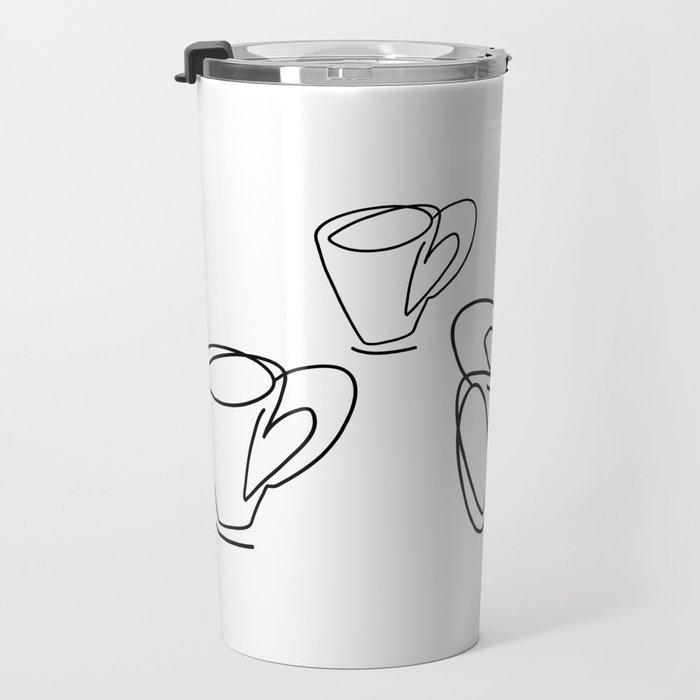 Cuppa Candor [Ivory] Travel Mug