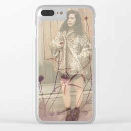 Lisa Marie Basile, No. 101 Clear iPhone Case