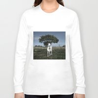 goat Long Sleeve T-shirts featuring Goat by Ana Francisconi