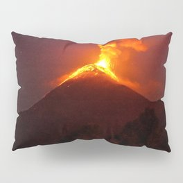 Volcano Eruption Pillow Sham