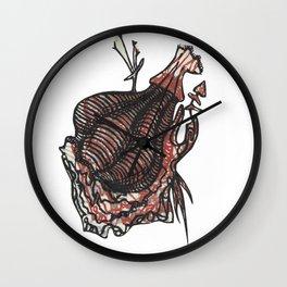 Dragon Blur Wall Clock