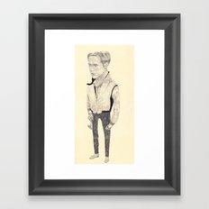 Ryan Gosling Framed Art Print