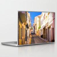 spain Laptop & iPad Skins featuring Spain by Nskey