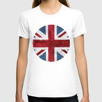 union jack T-shirts featuring Union Jack by Renato Verzaro