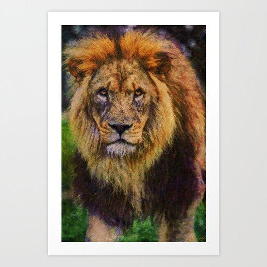 Leo Rex,  Art Print