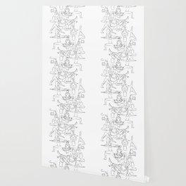 Yoga Manuscript Wallpaper