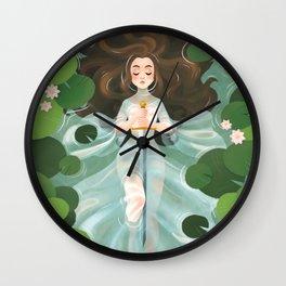 Lady of the Lake Wall Clock