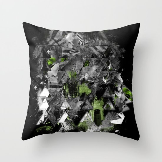 Abstractness Throw Pillow