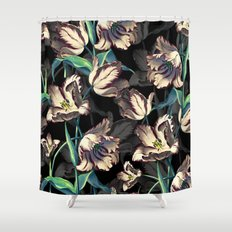 NIGHT FOREST XIII Shower Curtain