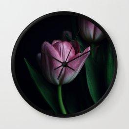 Spring P I N K Wall Clock