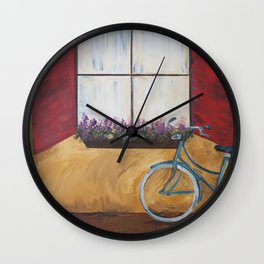 Ride on Wall Clock