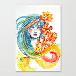 Kukkia Canvas Print