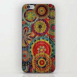 Kashmir on Wood 01 iPhone Skin