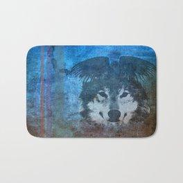 Raven and Wolf Bath Mat