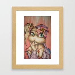 mixi Framed Art Print