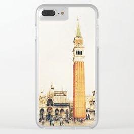 la Piazza Clear iPhone Case