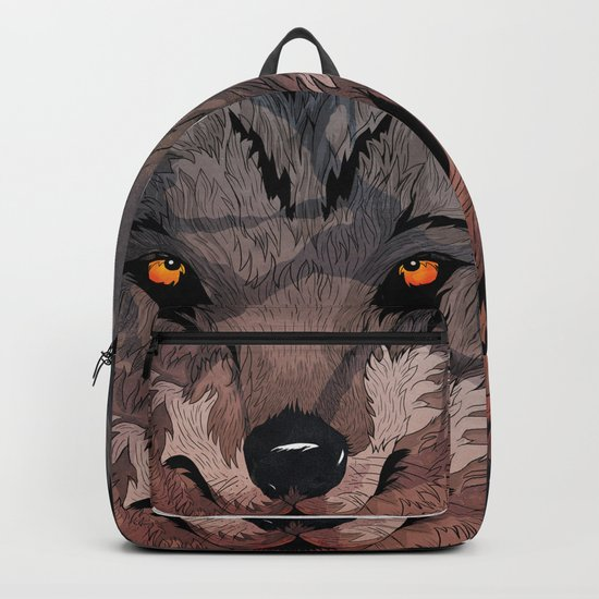 Wolf Mother Backpack