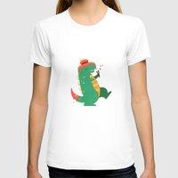 godzilla T-shirts featuring Godzilla by cezra