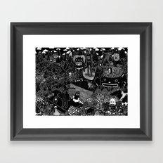 vacaciones Framed Art Print