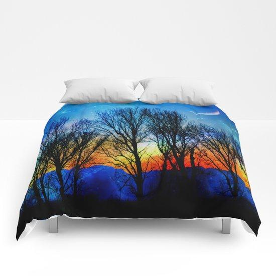 light up the sky Comforters