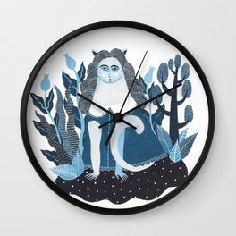 We are cats inside Wall Clock