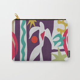 Inspired to Matisse (violet) Carry-All Pouch