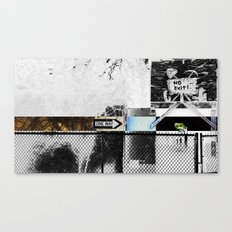 One Way Only Canvas Print