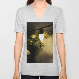 Light and Snow Unisex V-Neck